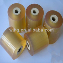 transparent yellow PVC Stretch Film wrapping for Cables