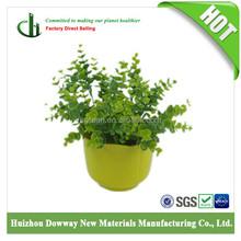 outdoor bamboo bulk flower pot plastic flower pot
