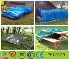 Waterproof truck and cargo cover tarpaulin fabric