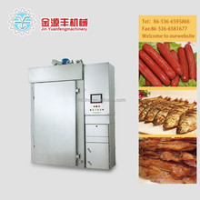 China 250 industrial electric bacon machine for smoking meat,meat smoking machine