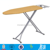 professional production mesh top iron board & wall mounted folding ironing board for hotel