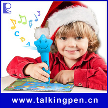 OEM/ODM Eco-friendly Material Manufacturer Talking Pen of Educational Toy with Books