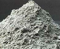 FLY ASH ( remaining ash from burned coal )