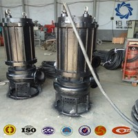 Sewage Treatment Pump submersible large size small mini cement pump for underwater sand