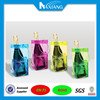 Factory price top quality clear pvc wine bottle bags