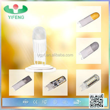 G9-C1 SMD 2835 2W dimmable g9 led bulb, g9 led lamps