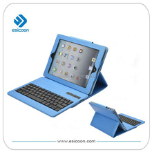 Colorful wireless bluetooth keyboard case for iPad
