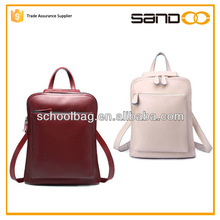 2015 factory vintage high end backpack leather