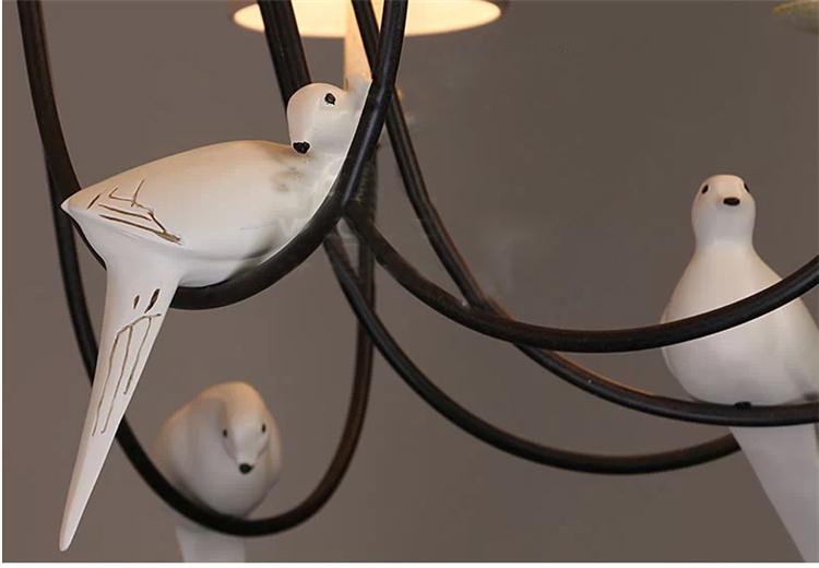 Fundido antigua pantalla de tela blanca moderna lámpara colgante ...