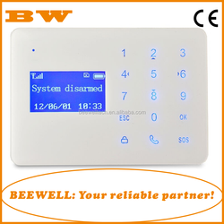 Wholesale easy operation touch keypad 433mhz wireless home security zte cdma gsm android mobile phone