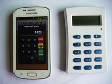 Mobile Payment Terminal-WisePad with Bluetooth, PINPad, EMV+MSR, LCD, Compliant with EMV L1/L2, PCI PTS 3.1