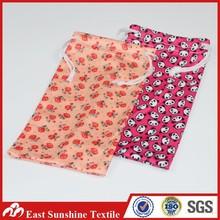 Heat Transfer Printing Microfiber Spectacles Bag/Glass/Sunglass/Eyeglass Bag With Drawstring