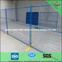 mobile fence, temporary police fence,mobile security fence mesh