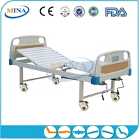 MINA-MB2309 adjustable portable 2 cranks hill rom hospital bed