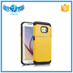 mobile phone case wholesale two in one combination sublimation phone case for Samsung Galaxy S6 edge