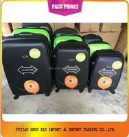 New Products travel plastic trolley hard case for luggage bags alibaba china