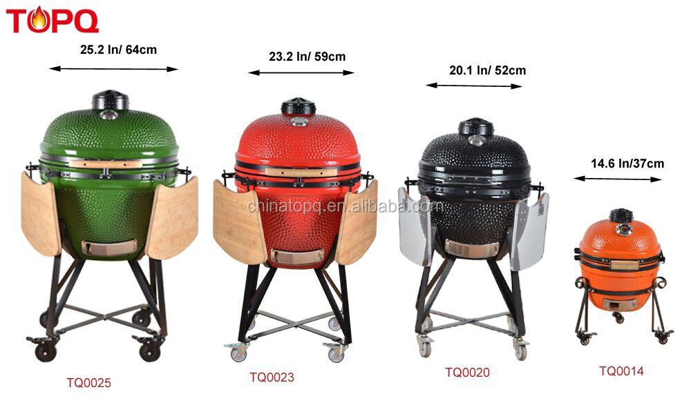 TOPQ 23 pouces Fumeur de BBQ Grill pour Restaurant Meubles