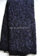 New Arrival Unique Print guipure lace fabric for garment