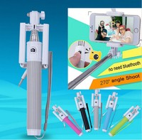 Universal Wired Selfie Stick Monopod for iPhone 6 Plus IOS Android Palo Selfie Remote For Samsung Camera Suporte Para Selfie