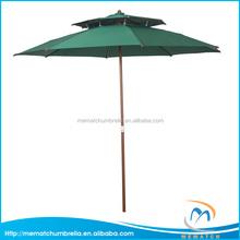 9ft Double Wind Resistant Outdoor Garden Umbrella Pagoda Patio Umbrella