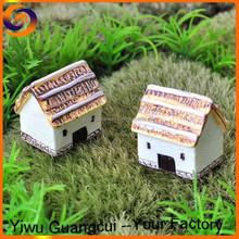 Polymer resin fairy house