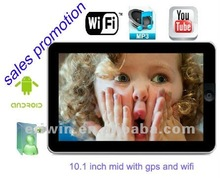ZX-MD1002 GPS WIFI Android 2.2 tablet pc 10 inch