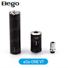 First TC Vape Pen!!! Joyetech Authentic High Quality Joyetech eGo ONE VT Kit 2300mah 4ml Capacity with Black/Silver Best Price
