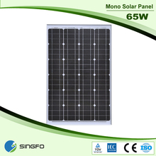 High Efficiency Mono 65w Foldable Solar Panel for Home Solar System