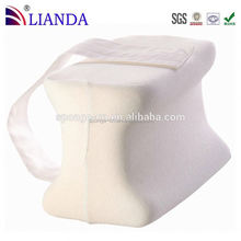 Improves circulation and decreases pressure and strain on affected areas fashion design memory foam knee support pillow