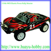 1/10th 4WD Electric Rally Monster