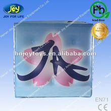 2012 colorful inflatable advertising air balloon