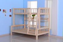 Kids bunk bed /children bed with slide factory direct supply