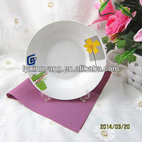 porcelain plate,wholesale dinner plates,printing plate