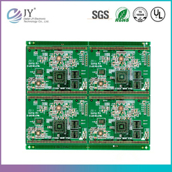 OEM electronic pcb assembly with components soldered