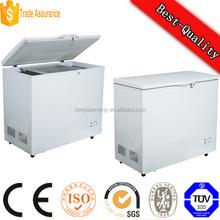 238L DC Power 12V 24V Solar Deep Chest Freezer, upright solar refrigerator & freezer