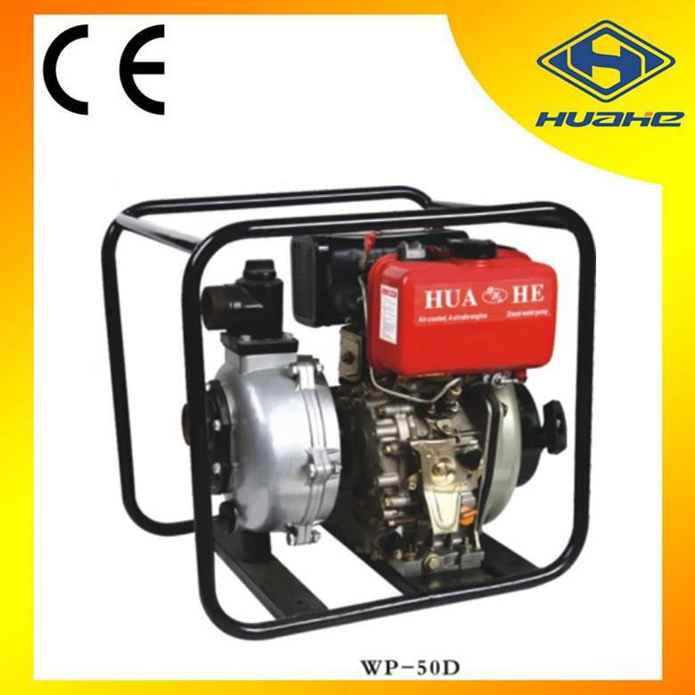 2015 hot sale 2 inch diesel engine driven water pump for Diesel irrigation motors for sale