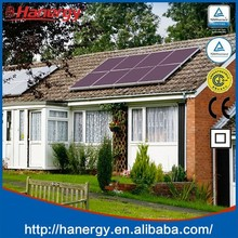 Hanergy 1.5kw solar electricity generating system for home with kit photovoltaic solar