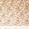 Net material guipure pattern bead pearl lace fabric sequin embroidery fabric high quality for wedding dress