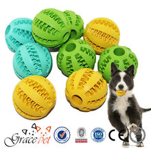 Natural Rubber Teething Gums Chewing Ball Dog Toy