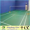 multi-purpose badminton court pvc vinyl sports court flooring