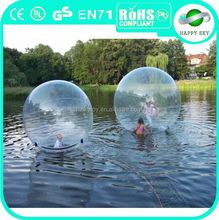 Factory direct sale PVC/TPUbig plastic hamster ball toys,water bounce ball,human hamster ball in pool