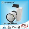 Alto lumen IC mejor cob dimmable 20 w led de carril de la pista de luz para la iluminación comercial