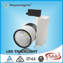 High lumen IC rated cob dimmable 20w led track rail light for commercial lighting