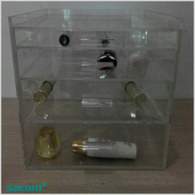 Hot sale acrylic organizers for makeup