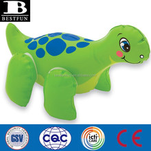 pvc inflatable opblaasbare dino animal blow up inflate novelty baby water bath beach pool toys