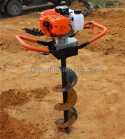 Agricultural equipment gasoline earth auger small grain augers power tools drill