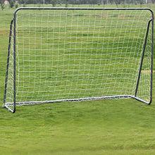 la meta futbolístico de metal armazón por niño