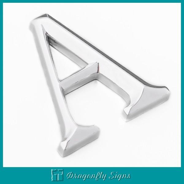 New Style 3D Chromed Letters