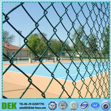 1 Inch Dog Proof Wholesale Decorative PVC Coated Chain Link Fence