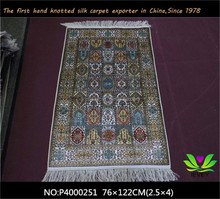 Chinese hand knotted silk area rugs all sizes custom made silk carpet for sale